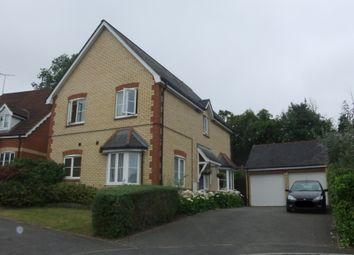 Thumbnail 4 bed detached house to rent in Willow Close, Claydon