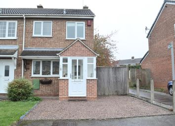 Thumbnail 2 bedroom semi-detached house for sale in Cottage Close, Newhall, Swadlincote