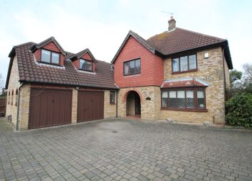 Thumbnail 5 bed detached house for sale in The Paddocks, Navestock, Stapleford Abbotts, Essex