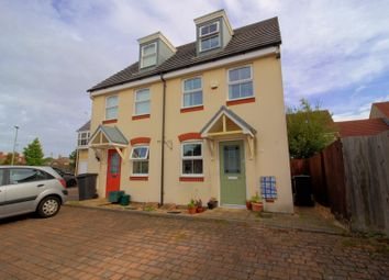 Thumbnail 3 bed town house for sale in Dragonfly Close, Kingswood, Bristol