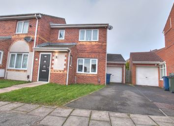Thumbnail 3 bed semi-detached house for sale in Redewood Close, Slatyford, Newcastle Upon Tyne