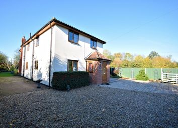 Thumbnail 4 bed detached house for sale in Church Road, Topcroft, Bungay