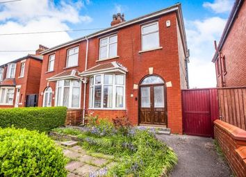 Thumbnail 3 bedroom semi-detached house for sale in Toronto Avenue, Blackpool, Lancashire, .
