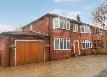 Thumbnail 4 bed semi-detached house for sale in The Nook, Worsley, Manchester