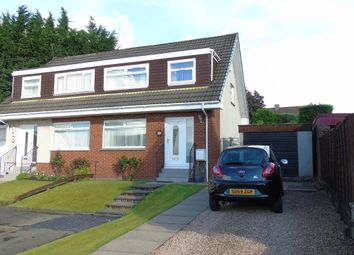 Thumbnail 3 bed semi-detached house for sale in Hazelbank Walk, Airdrie, North Lanarkshire