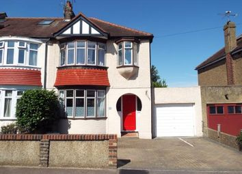 Thumbnail 3 bed end terrace house for sale in Grafton Avenue, Rochester, Kent