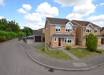 Thumbnail 3 bedroom detached house for sale in Eliot Close, Kettering