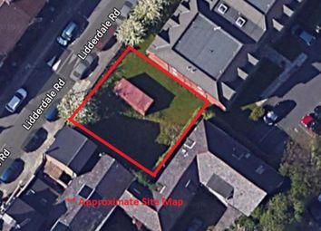 Land for sale in Lidderdale Road, Wavertree, Liverpool L15