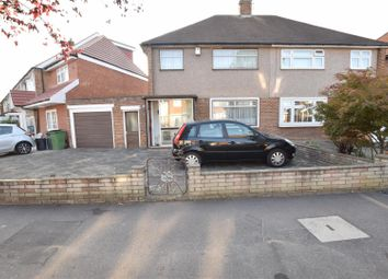 Thumbnail 3 bed semi-detached house for sale in Donald Drive, Chadwell Heath, Romford