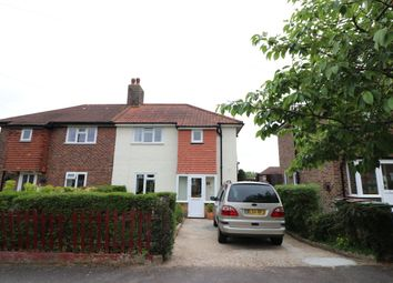 Thumbnail 3 bedroom semi-detached house for sale in Courtney Crescent, Carshalton On The Hill, Carshalton On The Hill