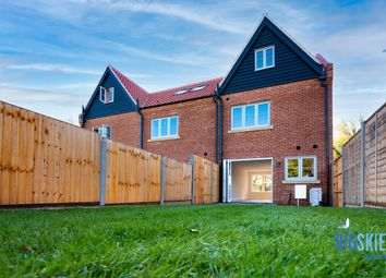 Thumbnail 3 bed end terrace house for sale in The Staithe, Stalham, Norwich