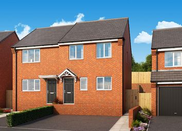 "Thumbnail 3 bed semi-detached house for sale in ""The Hawthorn"" at Manor Way, Peterlee"