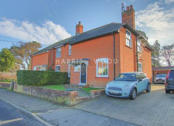 Thumbnail 3 bed semi-detached house for sale in Rectory Road, Rowhedge, Colchester