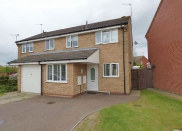 Thumbnail 3 bedroom semi-detached house for sale in Portsch Close, Carlton Colville, Lowestoft
