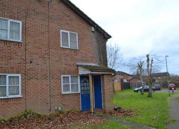 Thumbnail 1 bedroom terraced house for sale in Albury Close, Luton, Bedfordshire