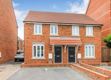 Thumbnail 2 bed semi-detached house for sale in Carpenters Close, Newbury