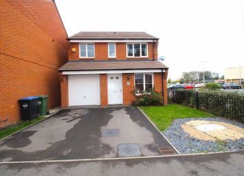 Thumbnail 3 bedroom detached house to rent in Barnaby Road, Rugby
