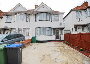 Thumbnail 4 bed end terrace house to rent in Woodside Close, Wembley, Middlesex
