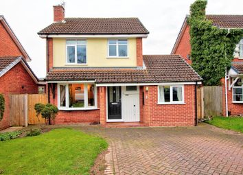 Thumbnail 3 bed detached house for sale in Convent Close, Little Haywood, Staffs