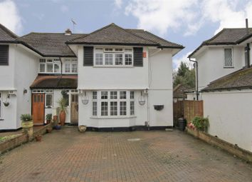 Thumbnail 4 bed semi-detached house for sale in Hillcroft Crescent, Watford