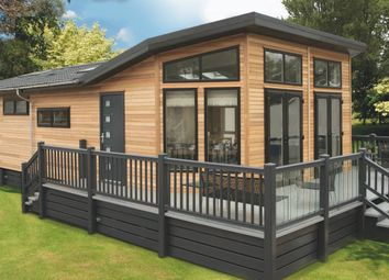 Thumbnail 3 bed lodge for sale in Llanon
