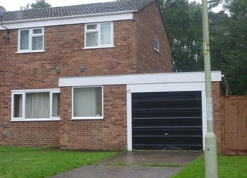 Thumbnail 3 bed semi-detached house for sale in Woodlands Way, Mildenhall