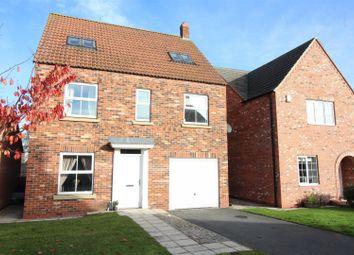 Thumbnail 6 bed detached house for sale in Moorland Way, Sherburn In Elmet, Leeds