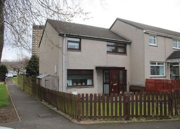 Thumbnail 3 bed end terrace house for sale in Coursington Gardens, Motherwell, North Lanarkshire