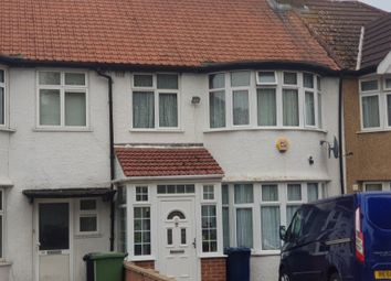 Thumbnail 4 bed terraced house to rent in Eastcote Avenue, Wembley