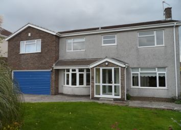 Thumbnail 4 bed detached house to rent in Rogers Lane, Bridgend