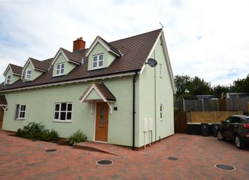Thumbnail 3 bed semi-detached house to rent in Mission Hall Lane, Stansted