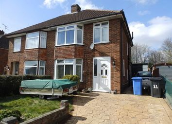 Thumbnail 3 bed semi-detached house for sale in Shrubland Avenue, Ipswich, Suffolk
