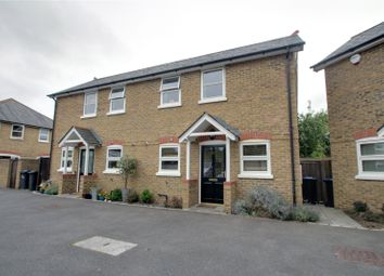 Thumbnail 2 bed semi-detached house for sale in St. Catherines Mews, Station Road, Chertsey, Surrey