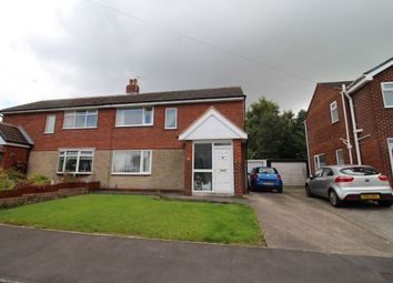 Thumbnail 3 bed semi-detached house to rent in St. James Close, Lostock Hall, Preston