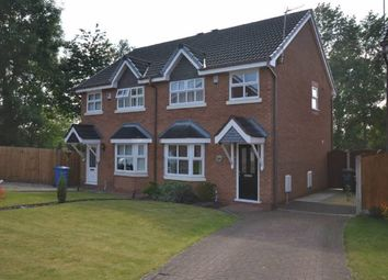Thumbnail 3 bed semi-detached house for sale in Mossdale Close, Great Sankey, Warrington