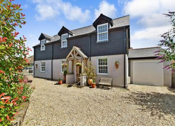Thumbnail 4 bed detached house for sale in Capel Street, Capel-Le-Ferne, Folkestone, Kent