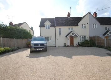 Thumbnail 3 bed semi-detached house to rent in Kiln Cottages, Crown Street, Dedham, Colchester