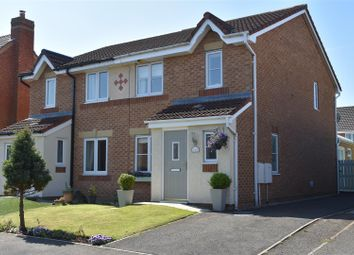 Thumbnail 4 bed semi-detached house for sale in Mile Stone Meadow, Euxton, Chorley