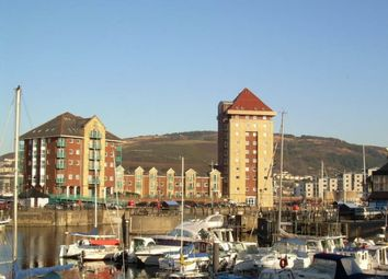 Thumbnail 2 bed flat to rent in Pocketts Wharf, Maritime Quarter, Swansea. 3XL.