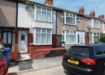 Thumbnail 2 bed terraced house for sale in Victoria Road, Rhyl
