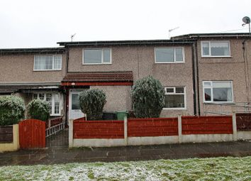 Thumbnail 3 bed terraced house for sale in Wenning Close, Whitefield, Manchester