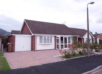Thumbnail 2 bed detached bungalow for sale in Monnow Close, Malvern