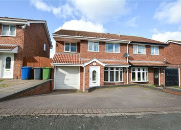 Thumbnail 4 bed semi-detached house for sale in Goldcrest, Wilnecote, Tamworth, Staffordshire