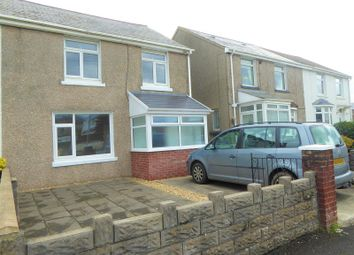 Thumbnail 3 bed semi-detached house for sale in Uxilla Terrace, Bridgend