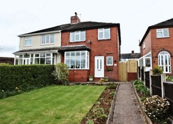 Thumbnail 3 bed semi-detached house for sale in Wade Avenue, Newcastle-Under-Lyme