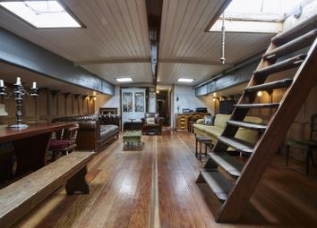 Thumbnail 4 bed houseboat for sale in Goodhart Place, London