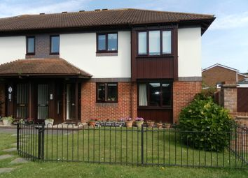 Thumbnail 2 bed flat for sale in Postern Close, Portchester