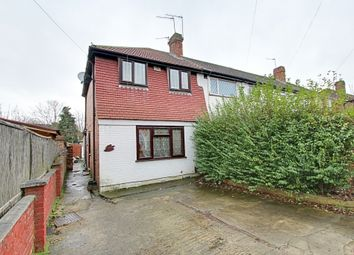 Thumbnail 3 bed end terrace house to rent in Ashford Avenue, Hayes