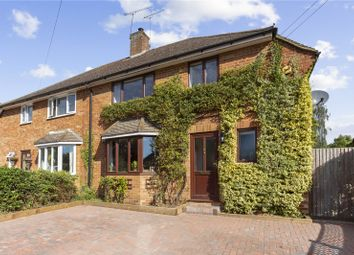 Thumbnail 3 bed semi-detached house for sale in Parsons Close, Church Crookham, Fleet