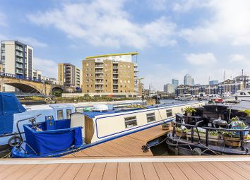 Thumbnail 1 bed houseboat for sale in Limehouse Basin Marina, London